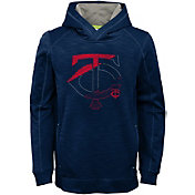 Majestic Youth Minnesota Twins Battle Pullover Hoodie