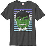 Fifth Sun Boys' Marvel 'Hulk' Big Face Graphic T-Shirt