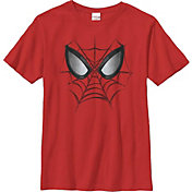 Fifth Sun Boys' Marvel Web Face Graphic T-Shirt