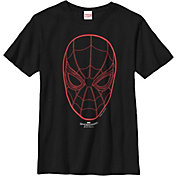 Fifth Sun Boys' Marvel Spidey Face Graphic T-Shirt