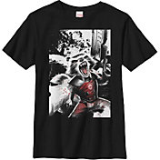 Fifth Sun Boys' Marvel Rocket Explosion Graphic T-Shirt