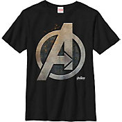 Fifth Sun Boys' Marvel Avengers Infinity Wars Steel Shield Graphic Tee