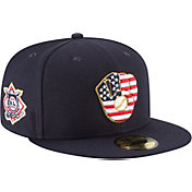 New Era Men's Milwaukee Brewers 59Fifty 2018 4th of July Fitted Hat