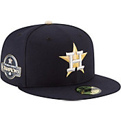 New Era Men's Houston Astros Championship Gold 59Fifty Authentic Hat