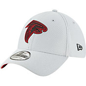 New Era Men's Atlanta Falcons Sideline Training Camp 39Thirty Grey Stretch Fit Hat