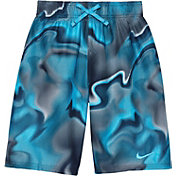 Nike Boy's Amp Axis Breaker Swim Trunks