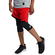 Nike Boys' Pro 3/4 Length Compression Tights