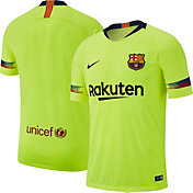 Nike Men's Barcelona FC 2018 Breathe Stadium Away Replica Jersey