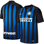 Nike Men's Inter Milan 2018 Breathe Stadium Home Replica Jersey