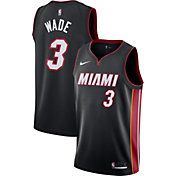Nike Men's Miami Heat Dwyane Wade #3 Black Dri-FIT Swingman Jersey