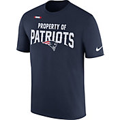 Nike Men's New England Patriots Property Of Navy T-Shirt