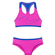 Nike Girl's Macro Swoosh Racerback Sport Top Brief Set