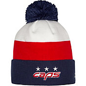 NHL Youth 2018 Stadium Series Washington Capitals Player Pom Knit Beanie