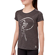 Reebok Girls' Novelty Performance Graphic T-Shirt