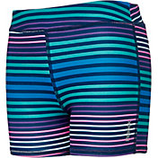 Reebok Girls' Printed Performance Solid Shorts