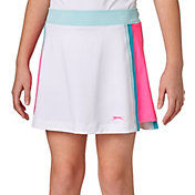 Slazenger Girls' Colorblock Golf Skort