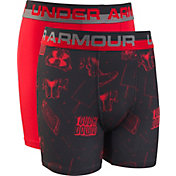Under Armour Boys' Touchdown Boxers – 2 Pack