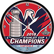 WinCraft 2018 Stanley Cup Champions Washington Capitals Round Clock