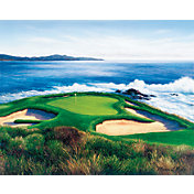 Golf Gifts & Gallery Pebble Beach 7th Hole Canvas Photo